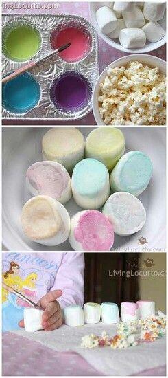 Edible food paint for cute snacks *Sweet condensed milk *Food ...