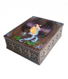 Fairy | Tarot / Jewelry Box Keijurasia koruille tai tarot-korteille 18,70 e