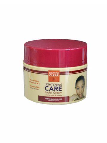 Doctor Clear est la référence en matière de soin éclaircissant. Sa formule exclusive agit efficacement sur tous les types de peau. Contient un complex de produits éclaircissants actifs et un concentréde vitamines C et E.  Disponible sur www.tribuebene.fr