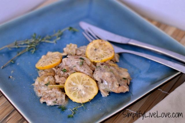 chicken with artichokes and lemon2