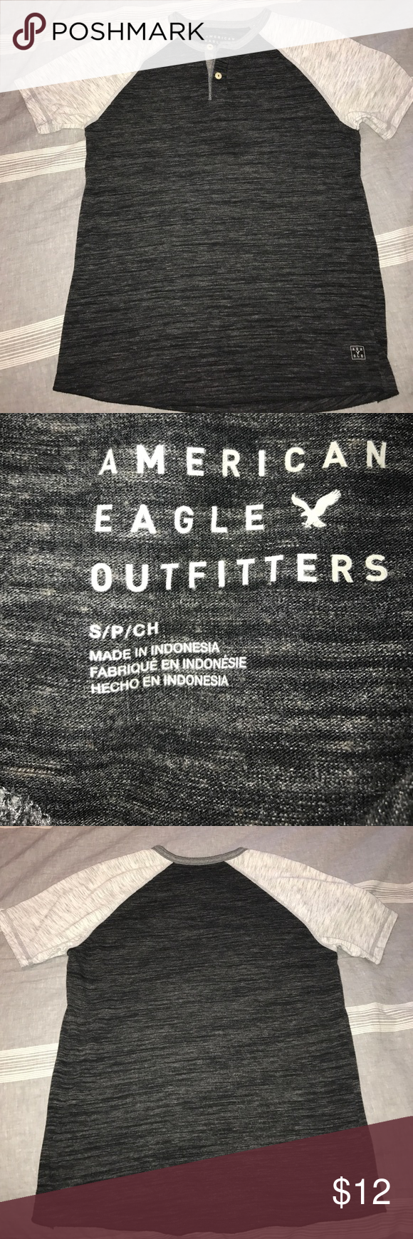 American eagle short sleeve size small Used, perfect condition American Eagle Outfitters Shirts Tees - Short Sleeve