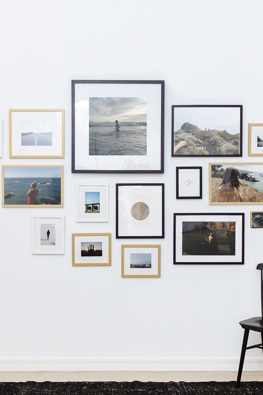 12 Ways To Make Any Blank Wall Look Totally Instagram Worthy Frames On Wall Perfect Gallery Wall Photo Wall Gallery
