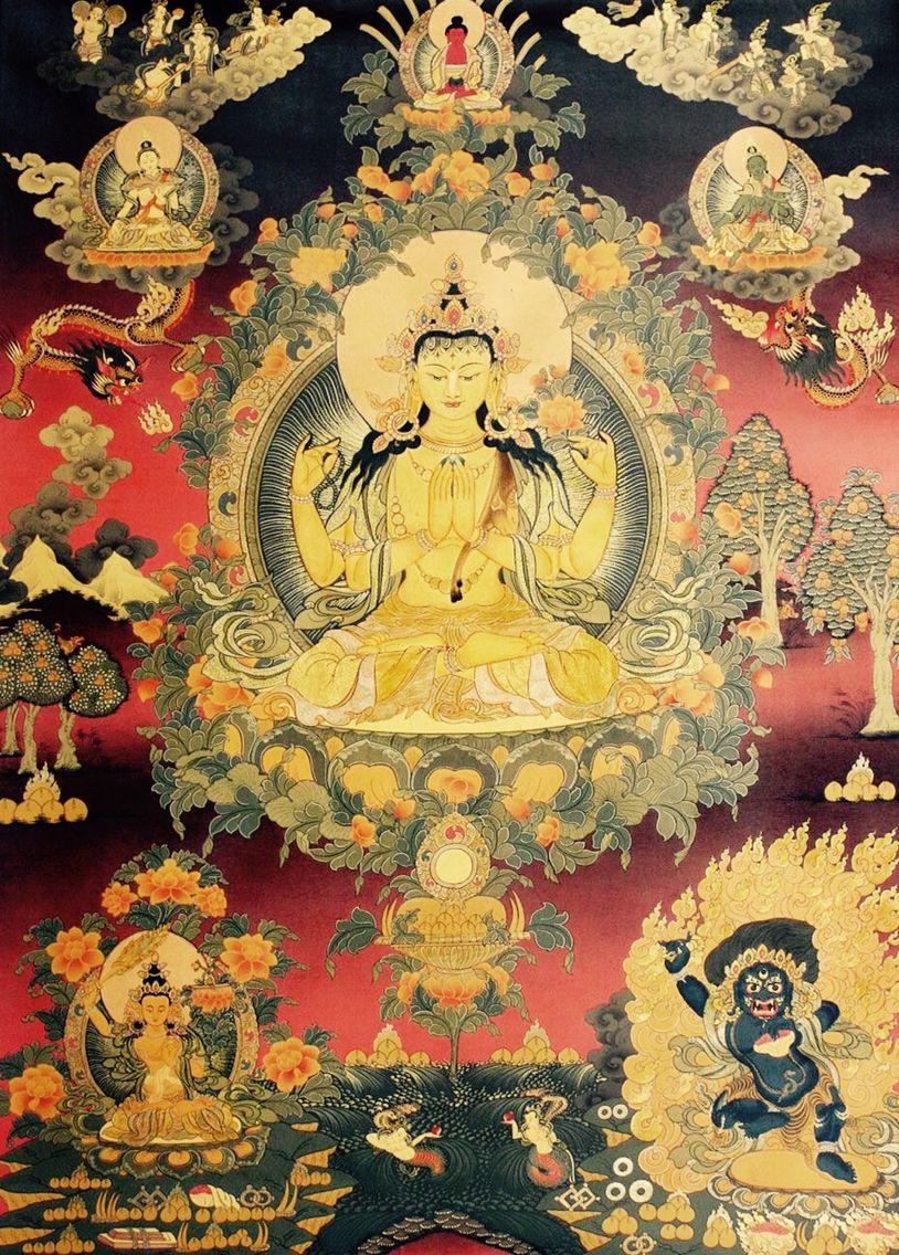 Buddha | buddha in 2019 | Buddhist art, Tibetan art, Tibet art