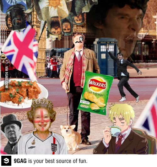 """I googled """"the most British picture ever"""" - Funny"""