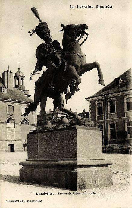 Statue du Général Lasalle - Château de Lunéville