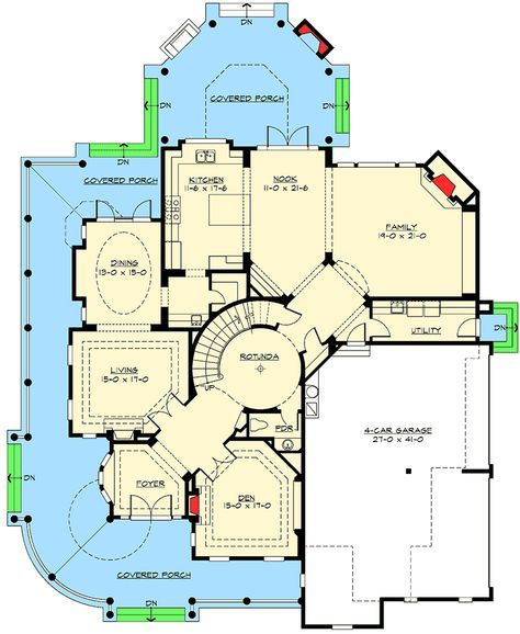 Award Winning Craftsman House Plans: Plan 2384JD: Award Winning House Plan