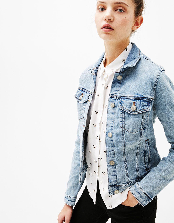 d2899f399 Coats & Jackets - CLOTHES - WOMAN - Bershka Spain | Work | Cazadora ...