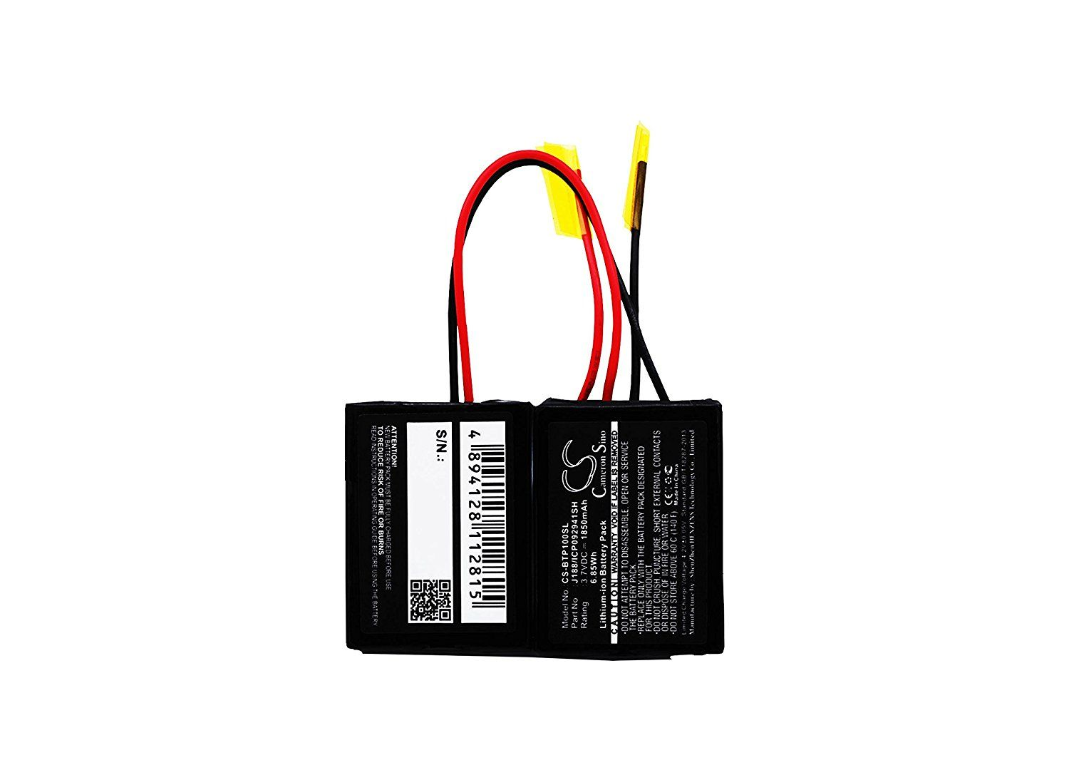 High Capacity Cameron Sino 1850 Mah Li Ion Replacement Battery For