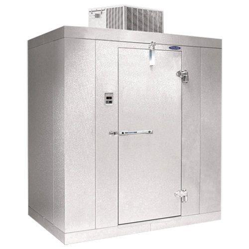 Nor Lake Kold Locker 7 7 Indoor Walk In Cooler 10 X 12 Floor Plan Right Hinge Walk In Freezer Locker Storage Cooling Unit