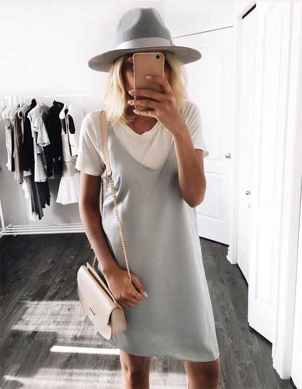 a00a919a599 20 Style Tips On How To Wear A Shirt Under A Dress This Summer ...