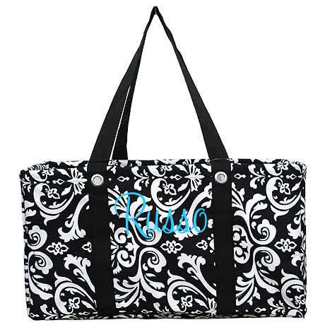 Monogrammed Utility Ultimate Carry All Tote TinyTulip.com We're All About Personalization - Gifts Monogram Embriodery