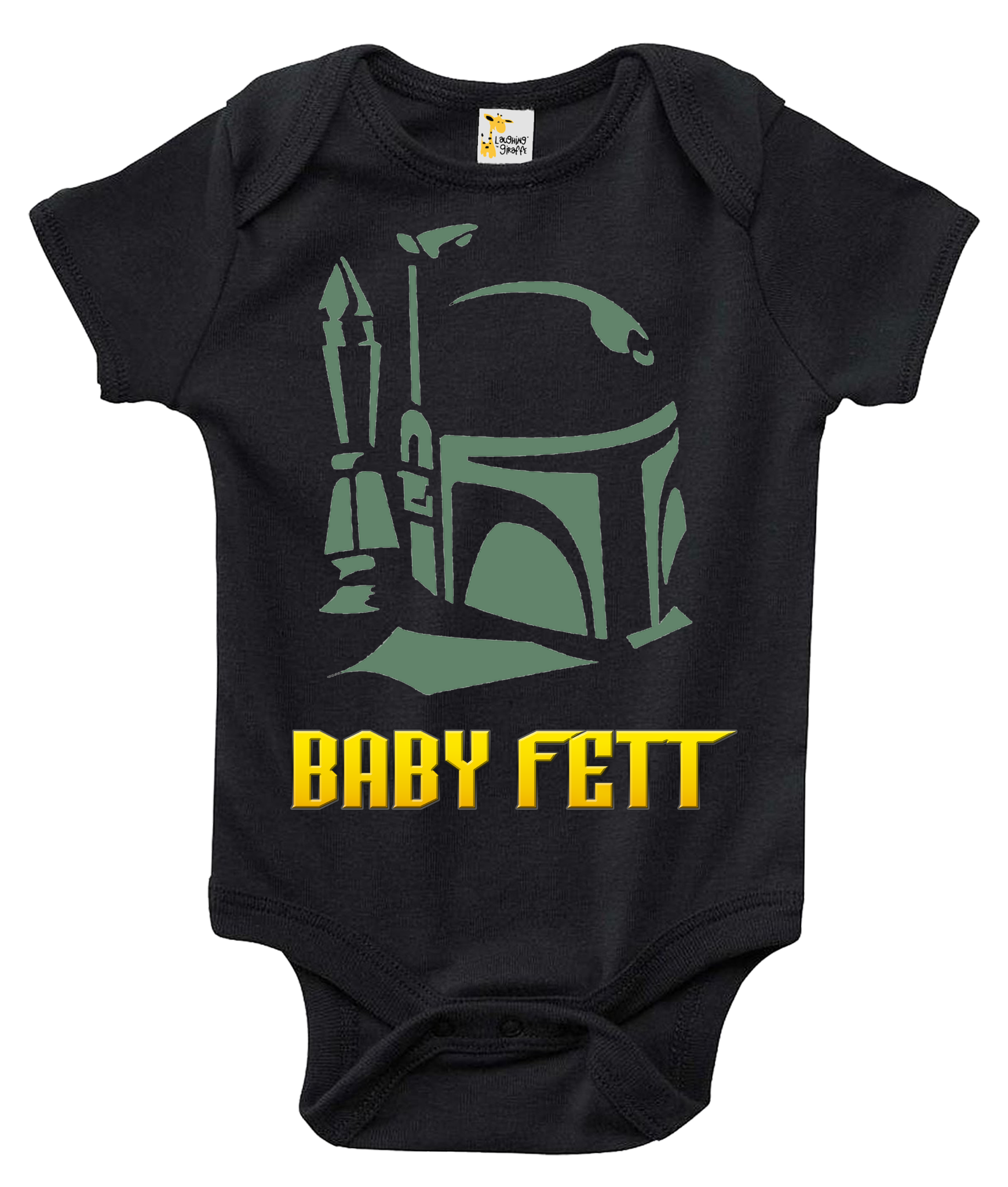 Baby Bodysuit Baby Fett Star Wars Themed Baby Clothes