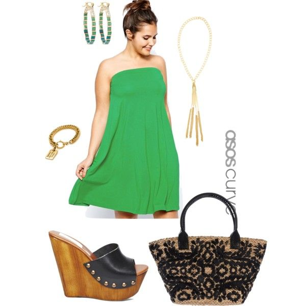 It's getting hot in here- plus size, created by gchamama on Polyvore