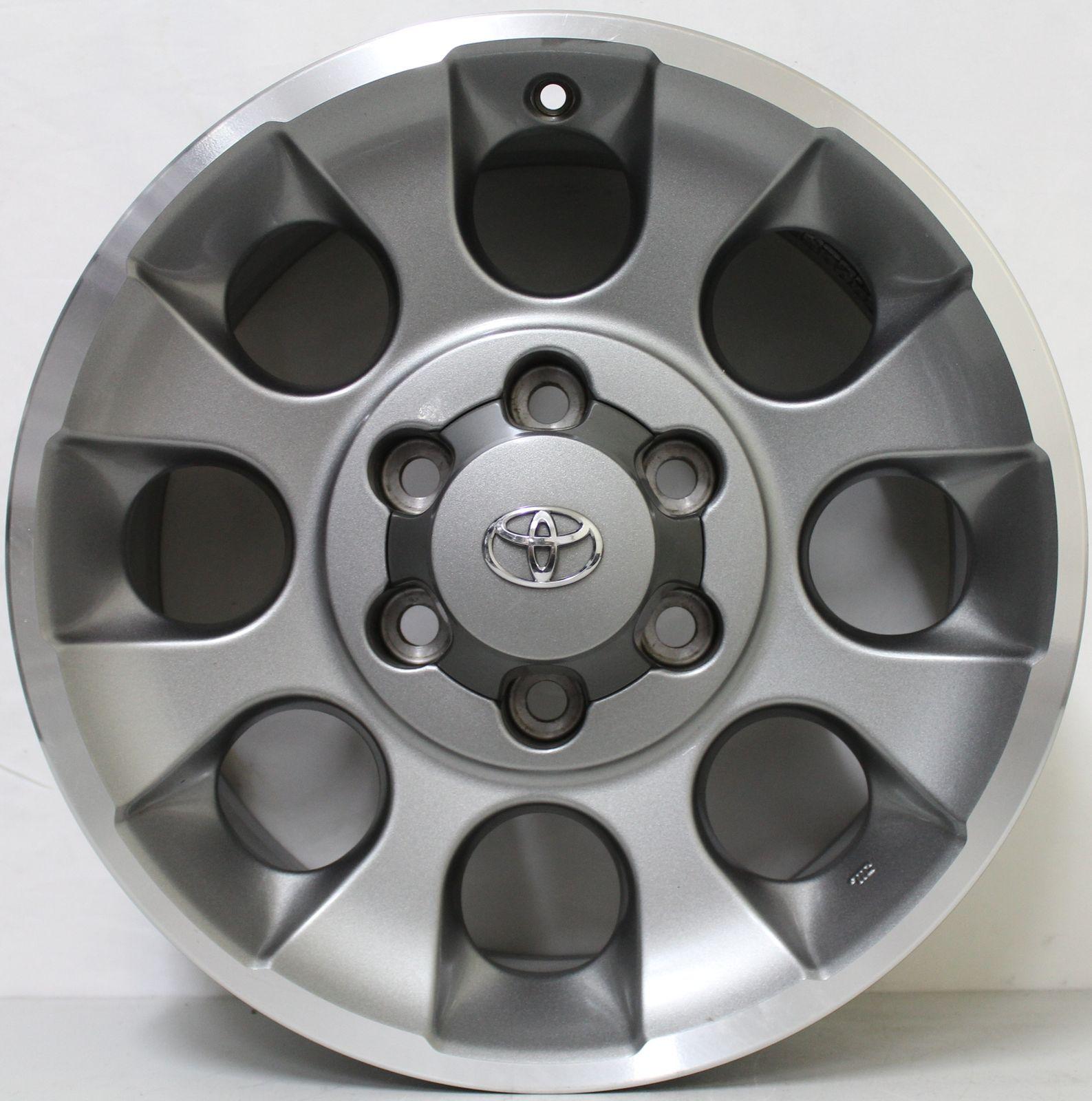 17 Inch Genuine Toyota FJ Cruiser 2013 Model Alloy Wheels   eBay