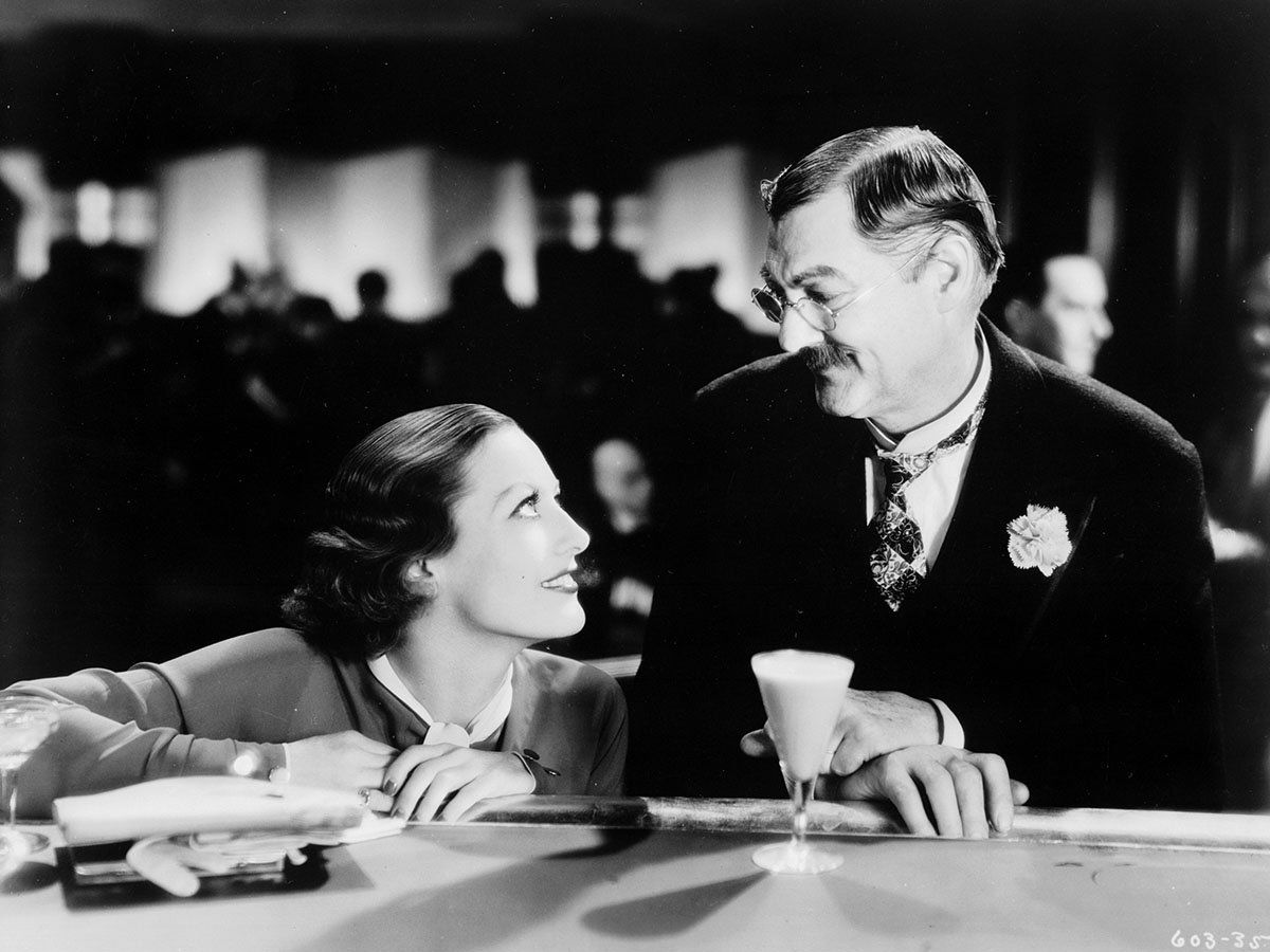 Image result for grand hotel 1932 Lionel Barrymore and Lewis Stone