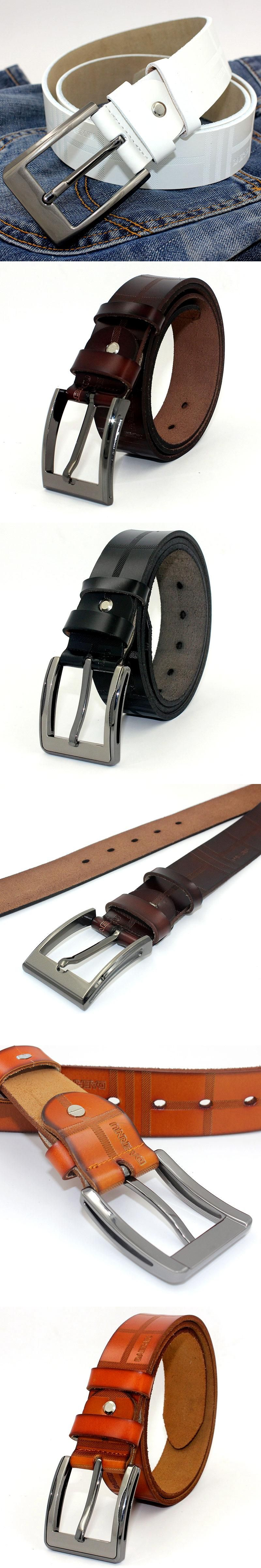 Soft Leather Belt Men High Quality Designer Belts For Men s Casual Genuine  Leather Waist Belt Pin c0a252f8cf9