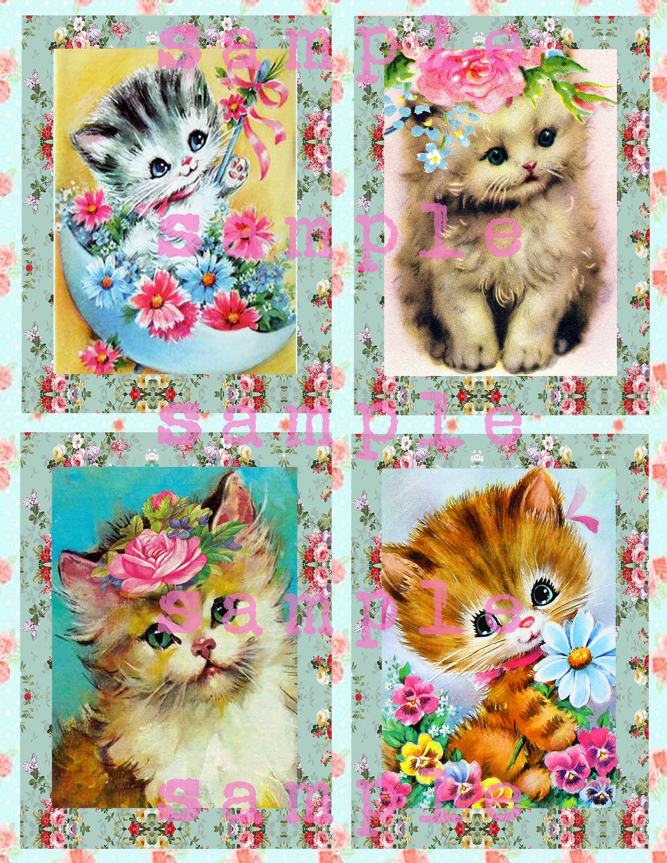 Paper Napkin for Decoupage//cat//Paper Craft//Scrapbooking//Card Making//Serviette//x2