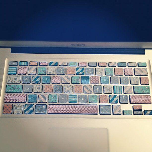 My Washi Tape Keyboard