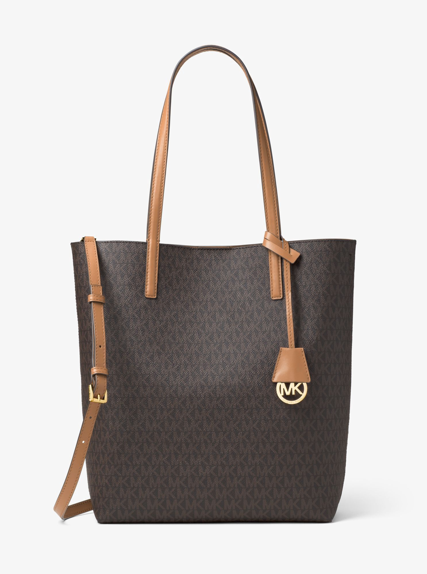 MICHAEL KORS Hayley Large Logo North South Tote