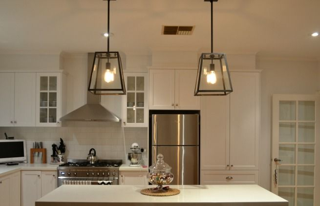 The lighting new kitchen and bedroom pendants