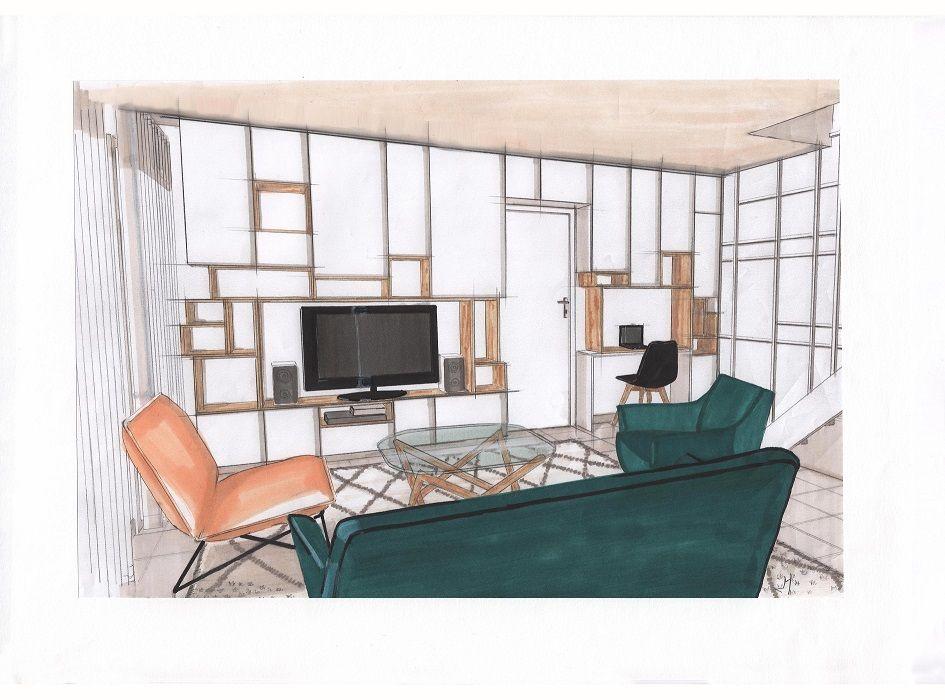 Salon Pour mon salon ce meuble multifonction meuble TV