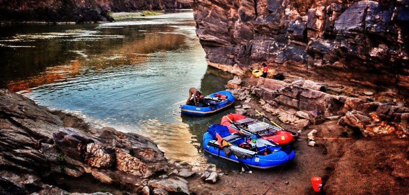 Colorado River Trip. Eddie Bauer Adventure.