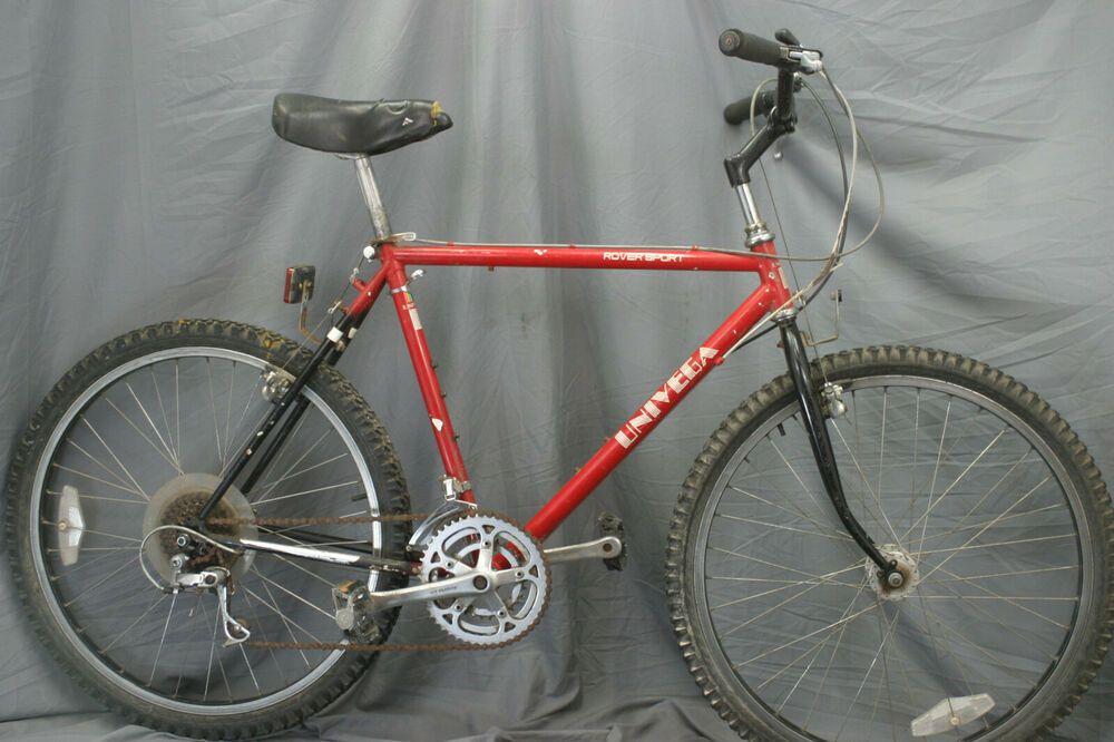 Univega Rover Sport Vintage Mountain Bike Xl 80s Mtb Sugino Vp Downhill Cahrity Univega Vintage Mountain Bike Commuter Bike Mountain Bike Frames