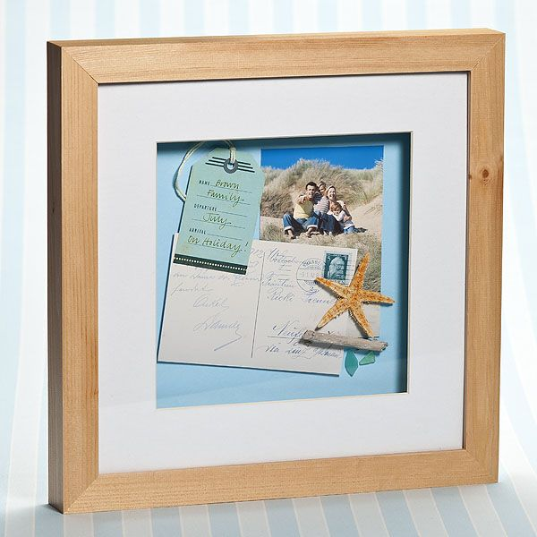 Holiday Memory Frame Craft Ideas Inspirational Projects