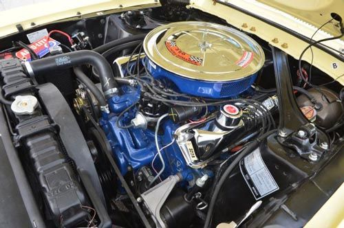 1967 Ford Mustang 390 Gt Coupe Engine Motor Trany Transfer