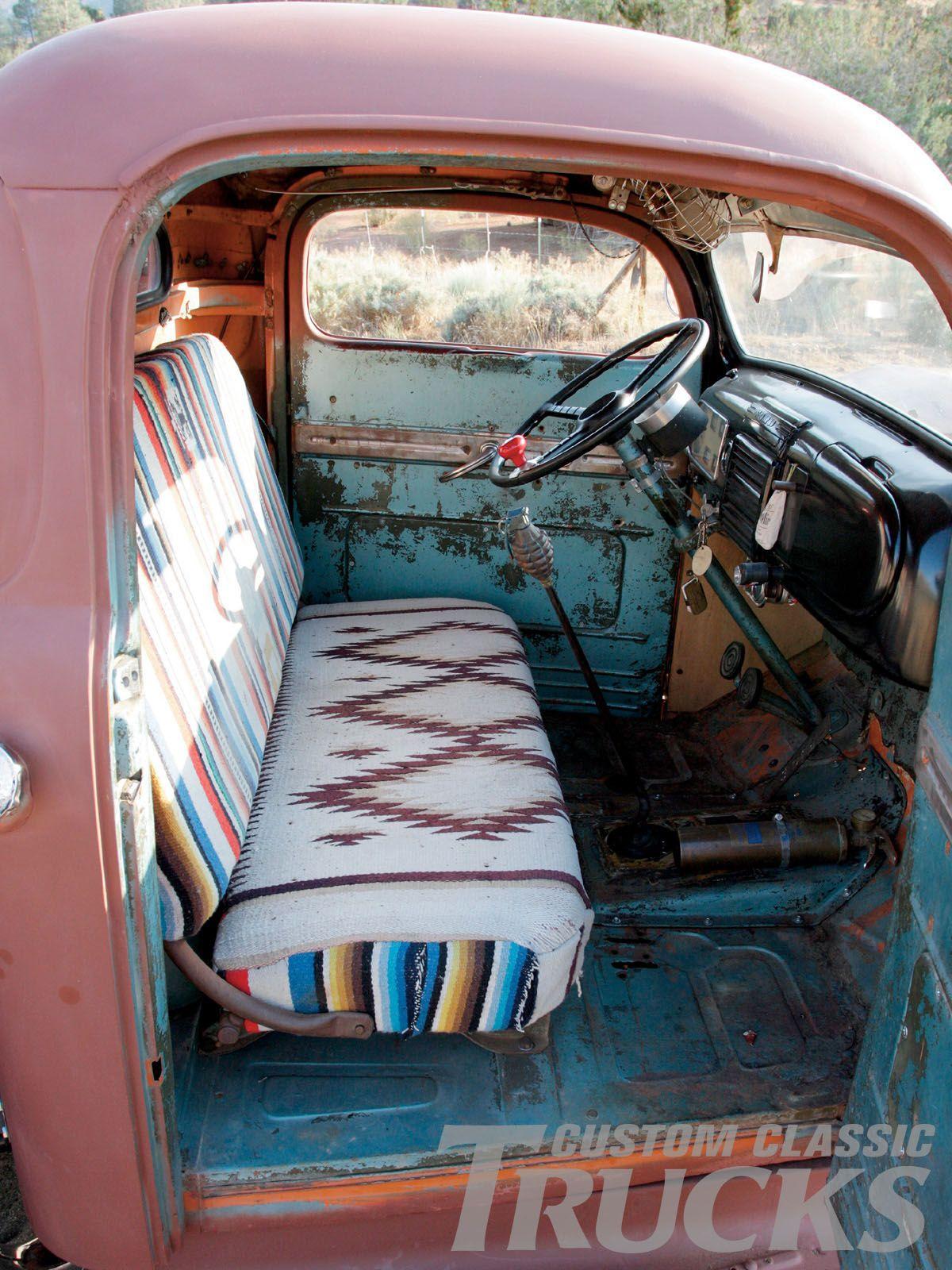 1949 Ford F6 Pickup Truck Refurbished Interior Trucks Pinterest Car Gas Tank Van Jeep