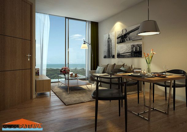 35sqm 1bedroom Condo For Sale Amusing 1 Bedroom Interior Design Condo Interior Design Condo Interior Simple Bedroom Design