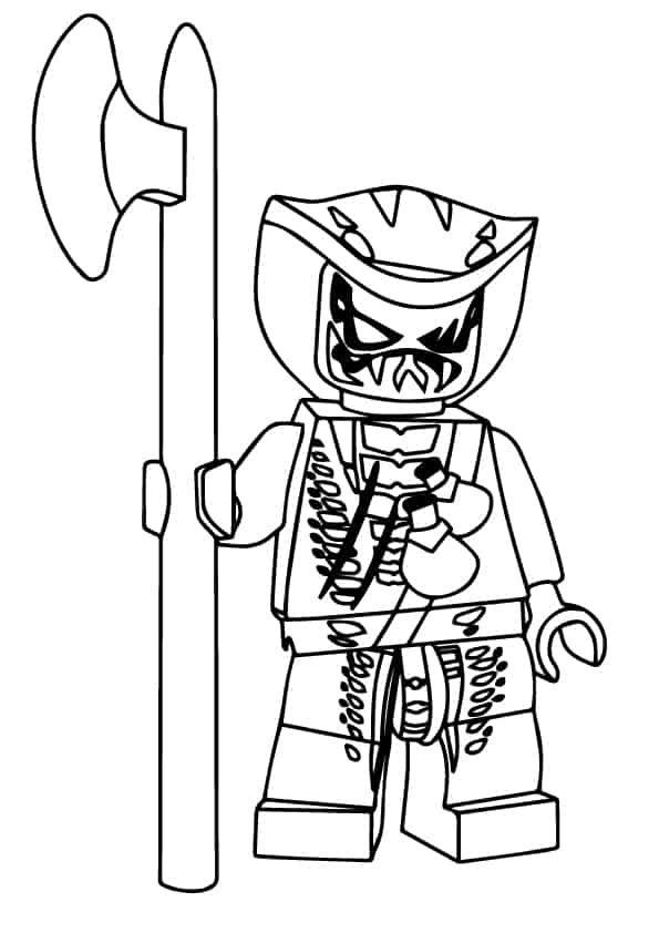 20 Ninjago Ausmalbilder für Kinder - Die besten Ninjago