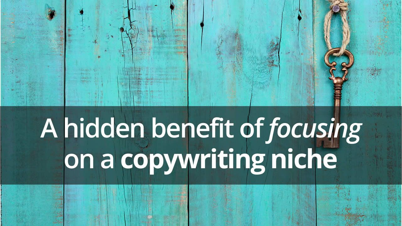 Pick Your Niche. Then Work It. Finding yourself, Copywriting