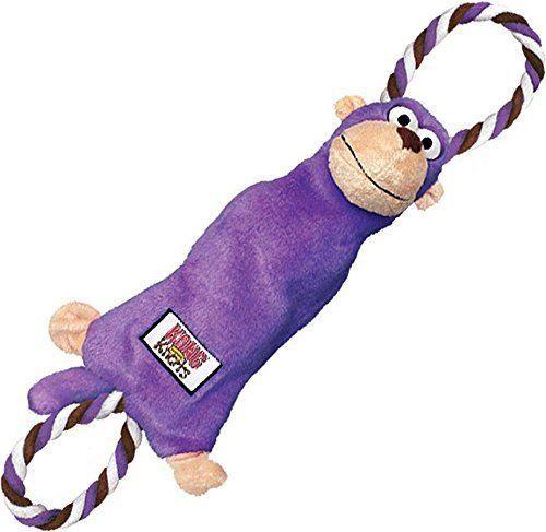 Kong Toys Monkey Dog Toy Rope Dog Toy Durable Dog Toys Kong Tug