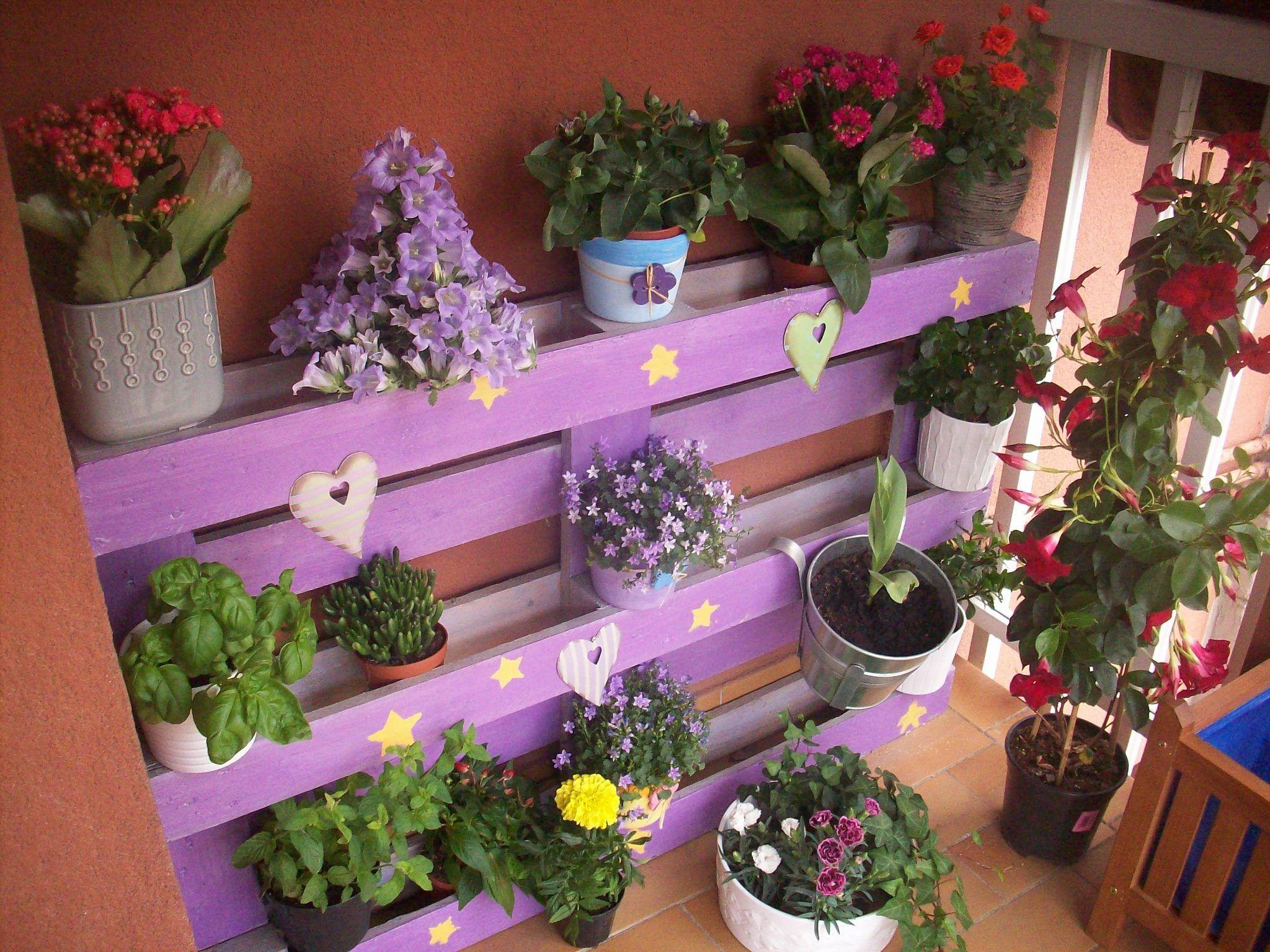bancale fiorito | Gardening | Pinterest | Terrazzo, Giardinaggio e ...
