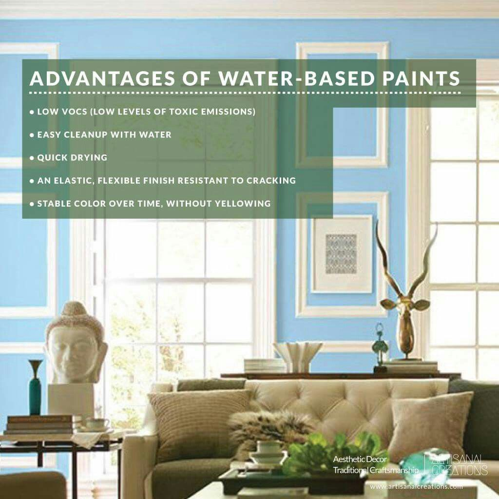 The Majority Of Wall Paint Sold Today Is Water Based But Oil