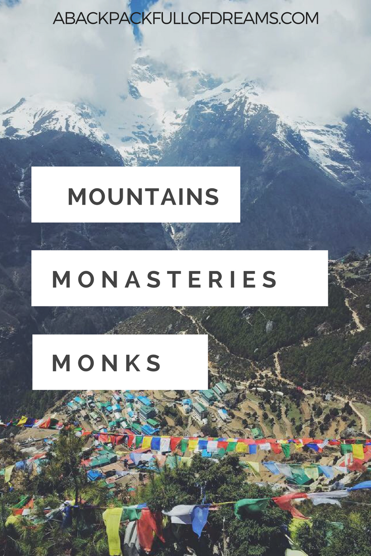 Monks, monasteries and mountains — A Backpack Full of ...