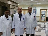 مستشفى بسكاكا تنجح في تركيب مفصل صناعي لشاب ثلاثيني