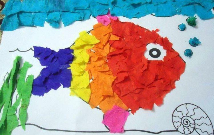 Wir Haben Die Besten Basteln Mit Krepppapier Mit Kindern Ideen Fur Geburtstag Deko Co Ideen Fur Sie In 2020 Kinder Basteln Krepppapier Krepppapier Kinder Collage