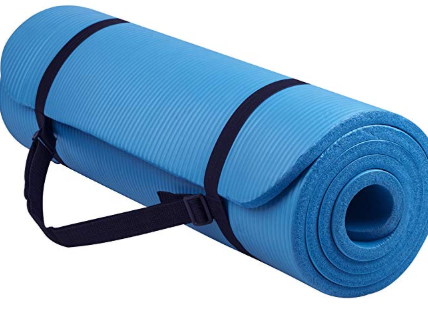 Balancefrom Goyoga All Purpose 1 2 Inch Extra Anti Tear Exercise Yoga Mat With Carrying Strap Yoga Mats Best Mat Exercises Yoga Mat Reviews