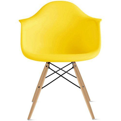 Heavenly Collection Bucket Armchair in Yellow | Yellow ...