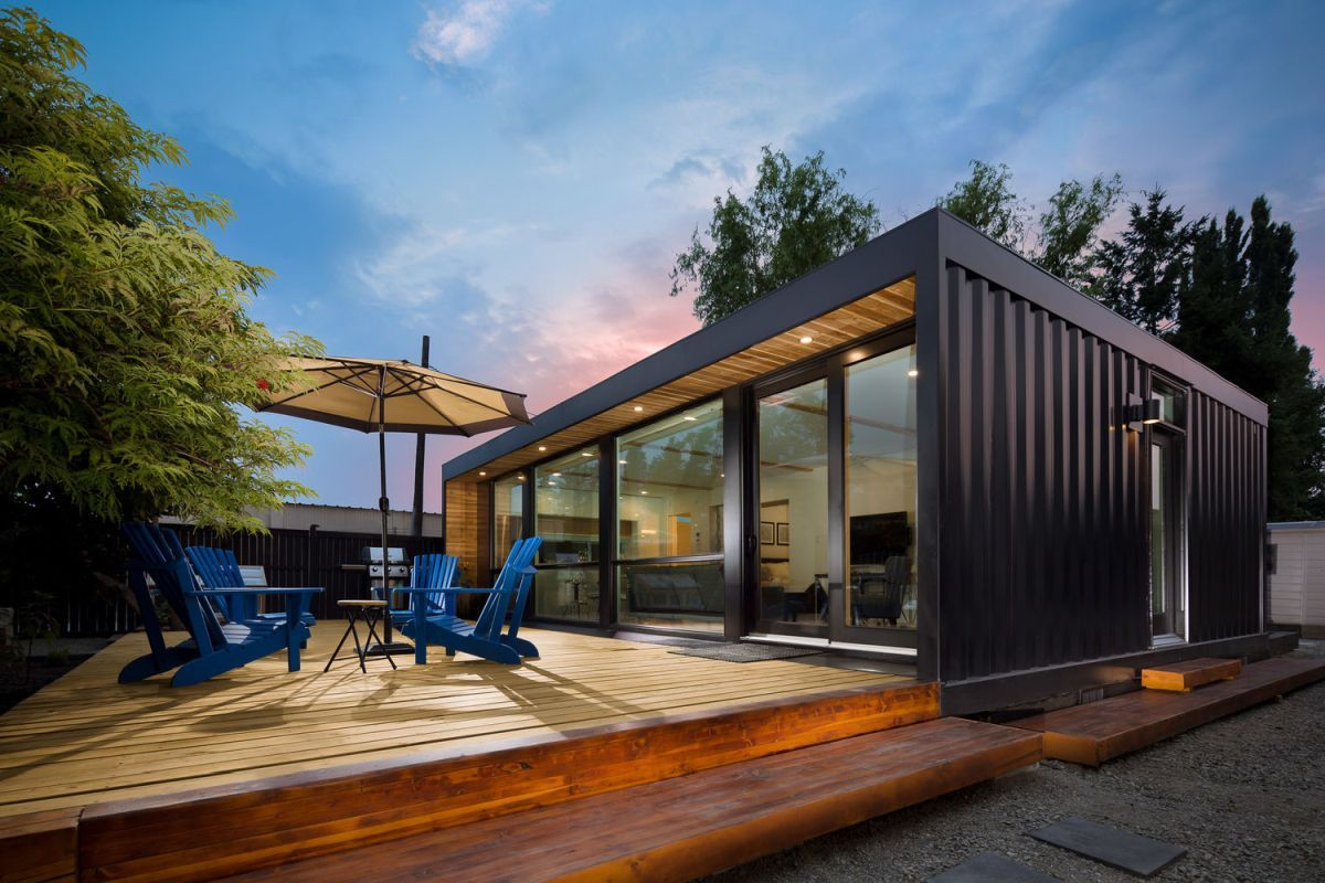 The Coolest Shipping Container Homes For Sale Right Now Container Homes Cost Prefab Container Homes Container Homes For Sale