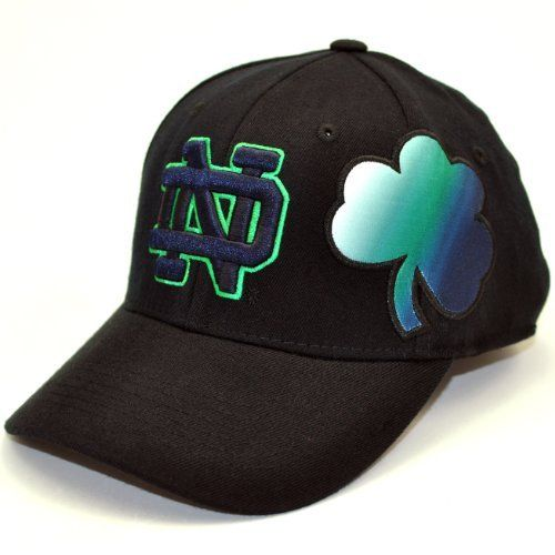 super popular 17f02 764e3 ... canada good ncaa notre dame fighting irish free agent 1 fit cap black  one size by