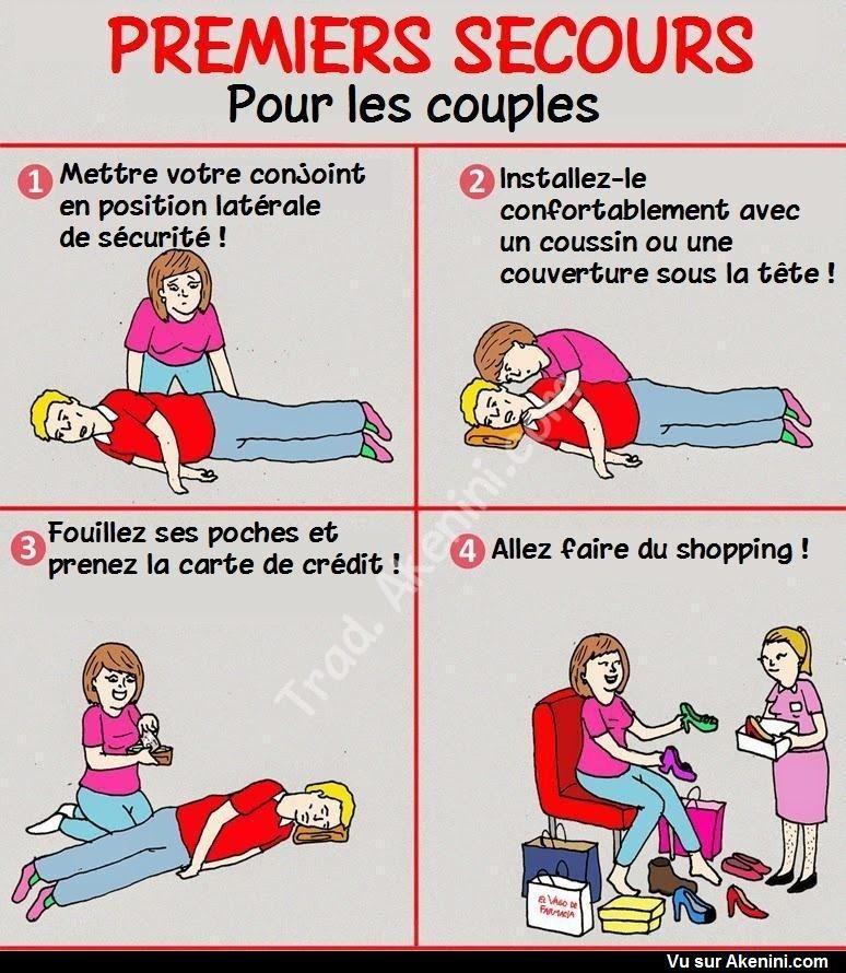 Humour Noir N 9287 Premiers Secours Pour Les Couples