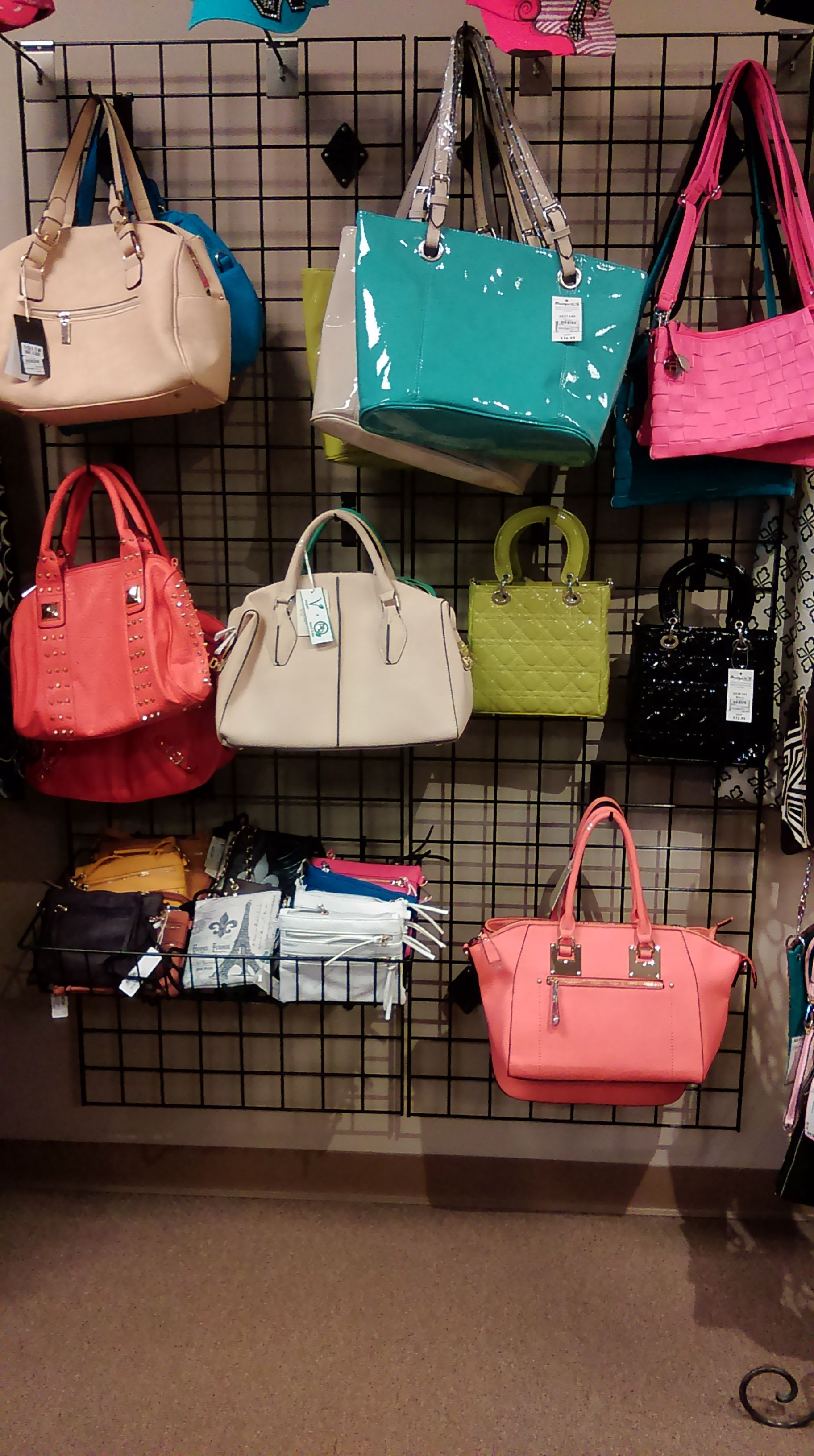 A Whole Wall Just For Purses Come Get Your Name Brand