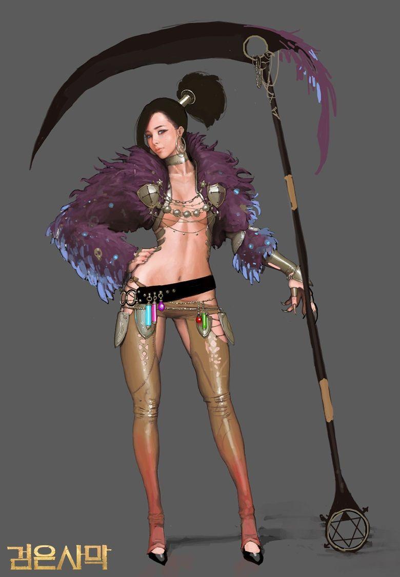 Best Character Design Course : Black desert sorceress awakening online