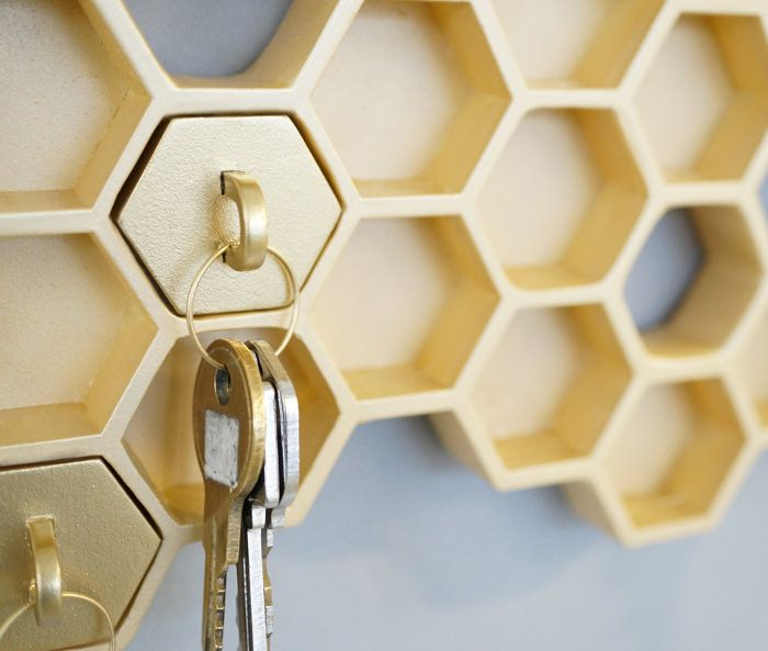Honey Repenser La Boite A Clefs Blog Esprit Design Boite A Clefs Design Idee Deco Appartement