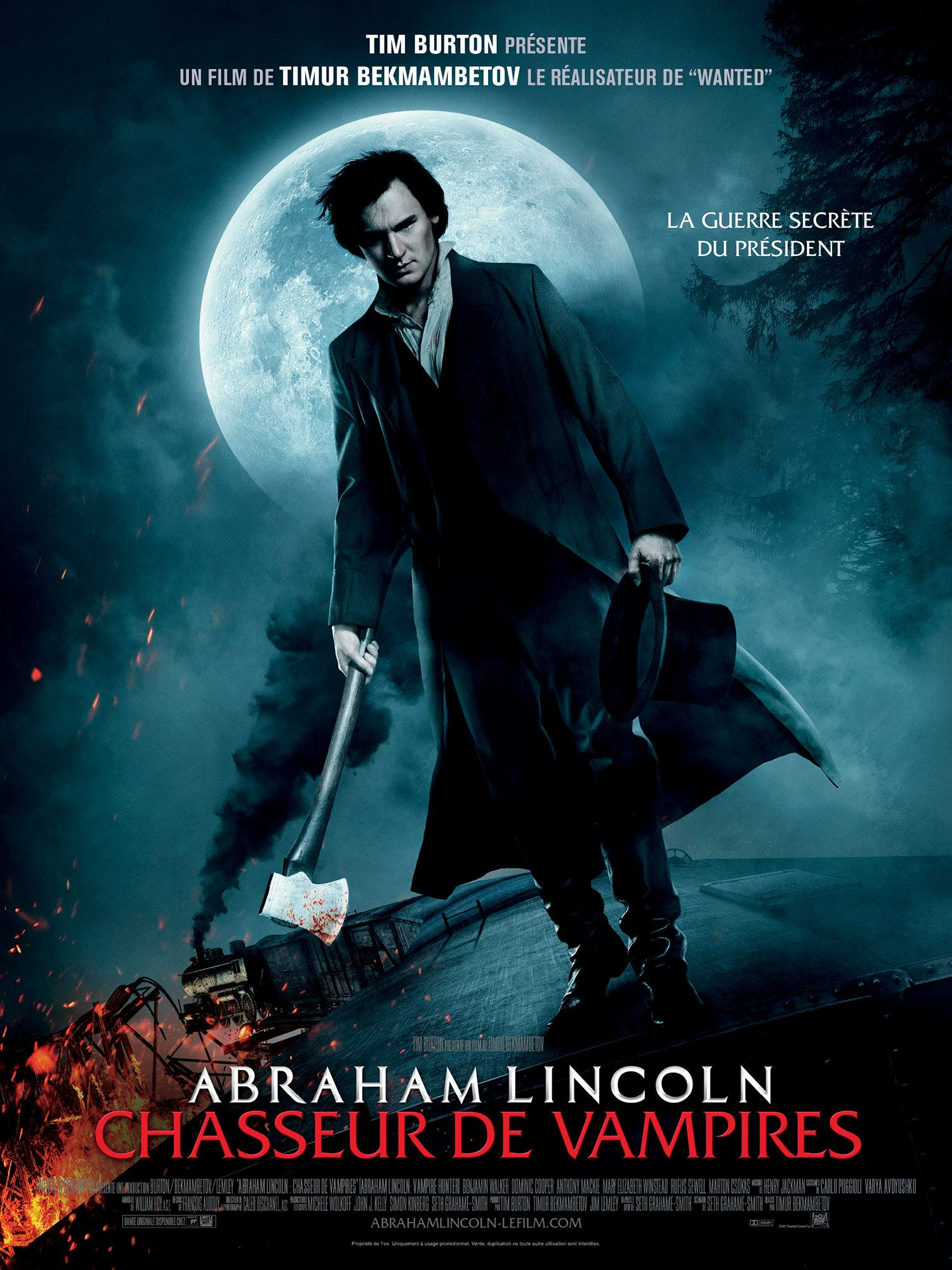 Regarder Animaux Fantastiques 2 Les Crimes De Grindelwald En Streaming Abraham Lincoln Chasseur De Vampires 08 08 2012 Film De Vampire Film Fantastique Film