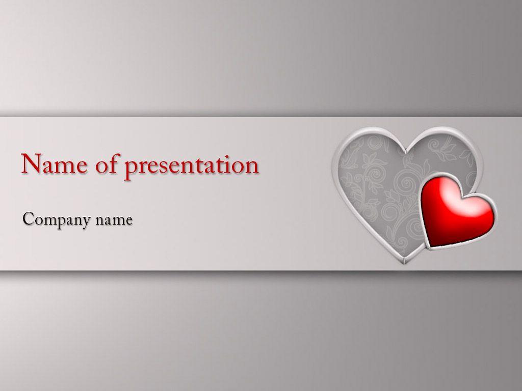 Encantador Plantillas Gratuitas De Powerpoint De San Valentín Friso ...