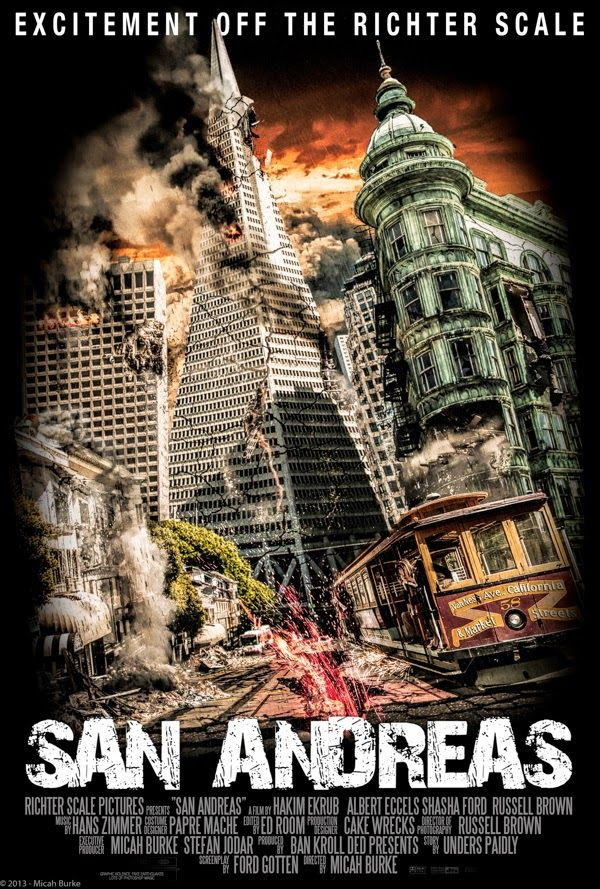 san andreas 2015 movie trailer and wallpapers poster